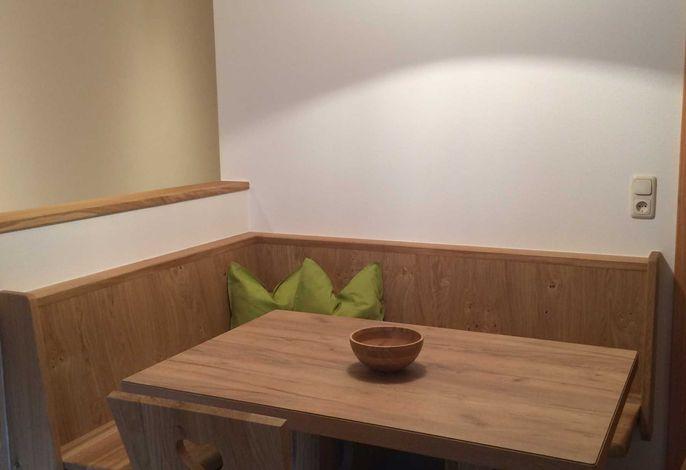Sitzecke in der Wohnung Hofwandalm