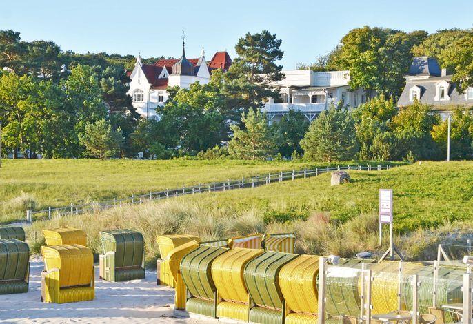 Villa Strandblick F 632  WG 03 mit seitlichem Seeblick