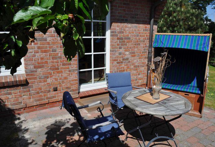 Erholung im Garten auf der eigenen Terrasse