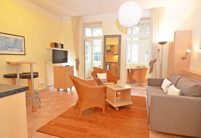WG 03 in der Villa Malepartus im Ostseebad Binz - Wohnbereich
