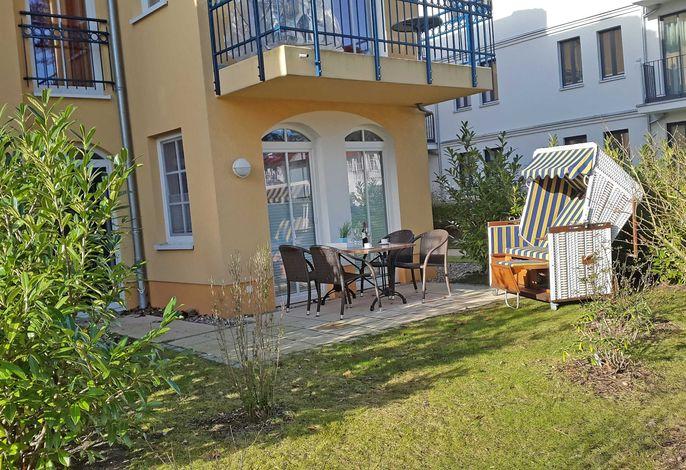 OS: Kurparkresidenz Baabe Whg. 05 Meeresgarten mit Terrasse