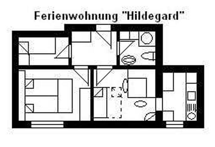 Haus U, für 1-15 Personen, 25km bis FFM-Nord