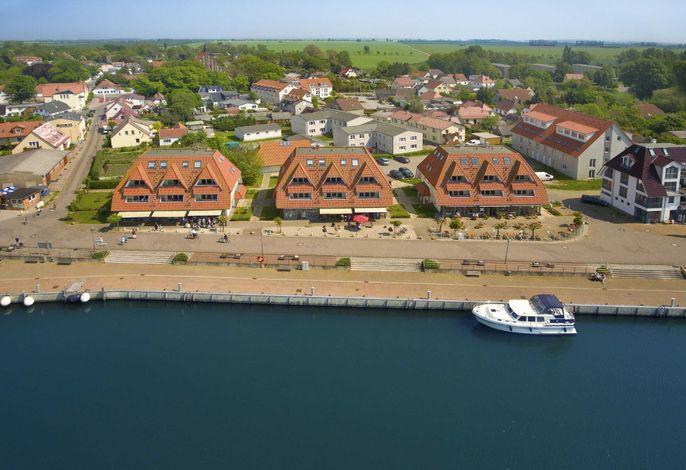 Urlaub mit herrlichem Meerblick in den Hafenhäusern Wiek