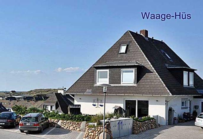 Waage-Hüs 4 Ferienwohnungen mit Meerblick