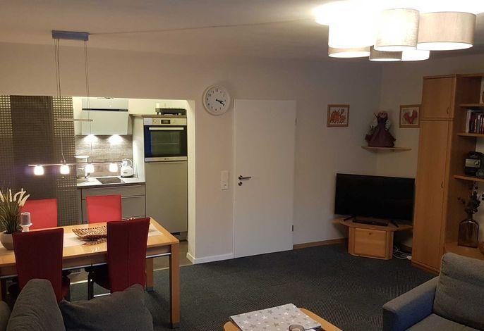 Wohnzimmer / Küchenzeile / Essecke