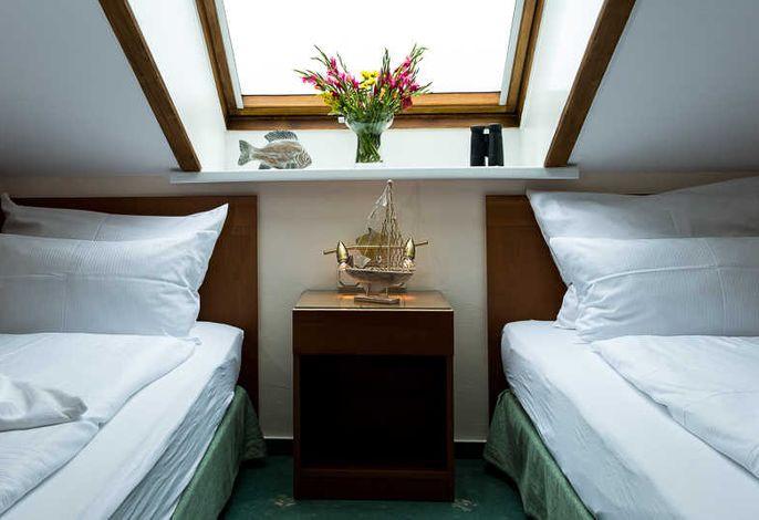 Zweibettzimmer mit Seesicht