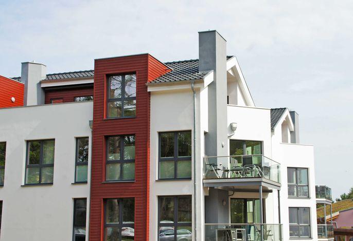 Strandvilla Baabe -F635 | WG 9 mit Meerblick, Kamin, Sauna
