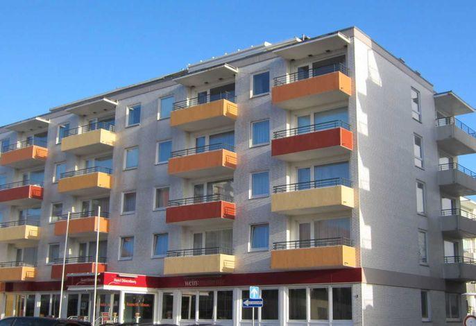 Haus Dünenburg  mit Meerblick Wohnung Nr. 52