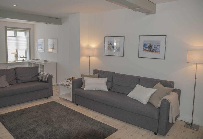 Wohnbereich in der 1. Etage (zwei Schlafplätze)