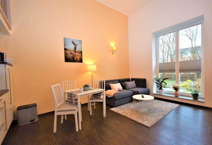 Apartment Seebad Sitzecke