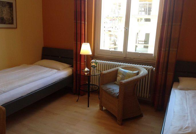 Betten im Zweibettzimmer