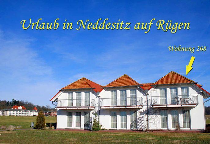 Neddesitz - Ferienwohnung Kreideblick WE 268 - RZV