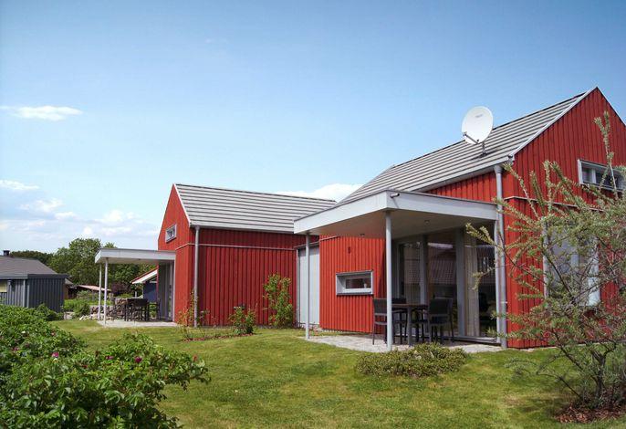 Schwedenrotes Ferienhaus Ostsee, Strand 500m, alles inkl.