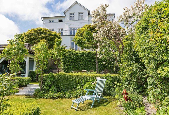 Villa Martha - Ferien-Appartements mit Meerblick, 1. Reihe