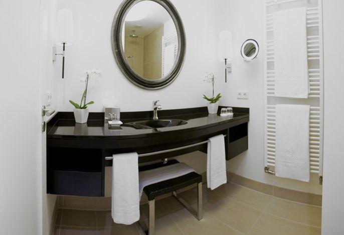 Einzelzimmer Elegance Badezimmer