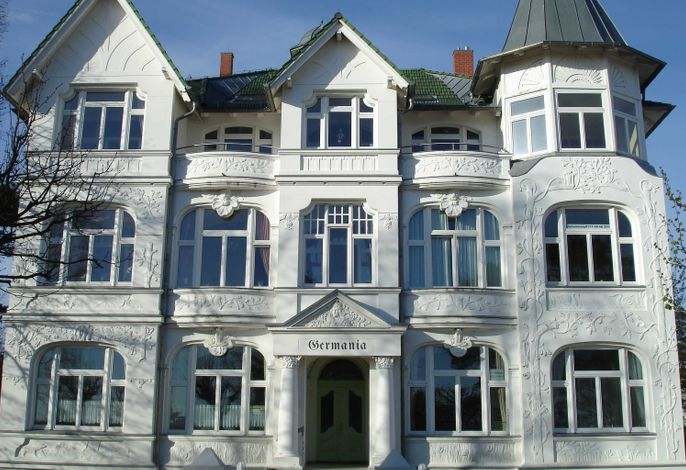 Villa Germania Seeblick Fewo Büge Ahlbeck Promenade