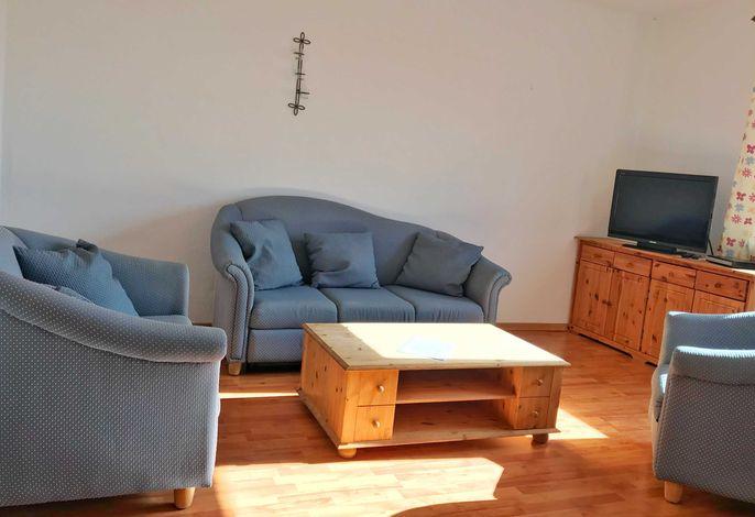 Wohnzimmer mit Flachbidfernseher