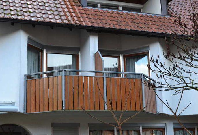 Außenansicht Balkone