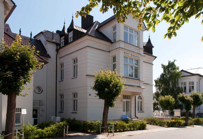 Ahlbeck, Schloss Hohenzollern_2Zi. - Neubau, strandnah