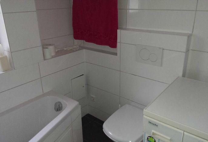 Badewanne Waschmaschine Toilette