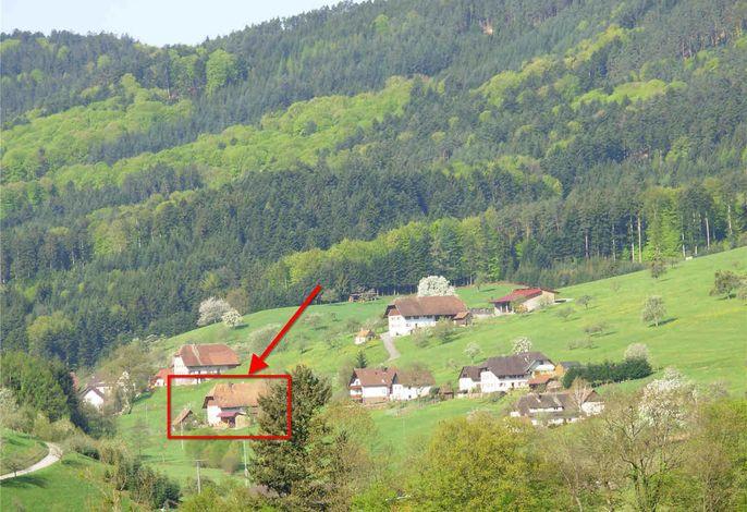 Haus im Regelsbachtal