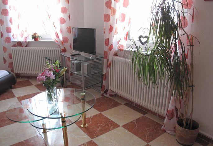 Wohnzimmer Ferienwohnung Vogesenblick