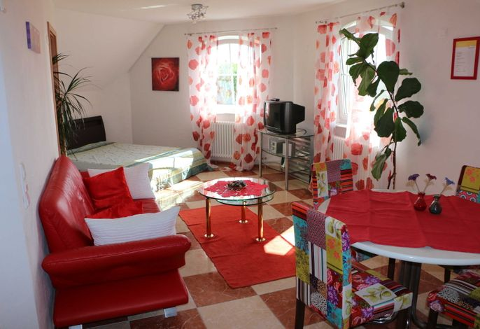 Wohn-Essbereich mit 2 Schlafmöglichkeiten