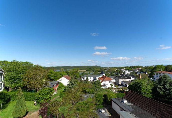 Doppelhäuser Zinglingsberg - Weitblick über Schmachter See