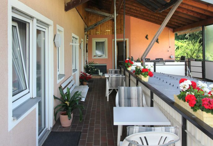 Balkon Gästezimmer
