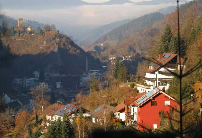 Ferienhaus Sabine mit Blick auf den Schloßberg
