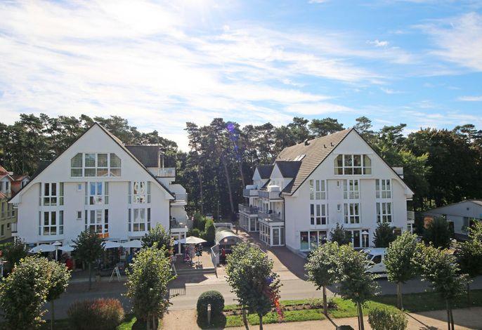 Ferienwohnung Strandmöwe mit Balkon (Süd/Ost)