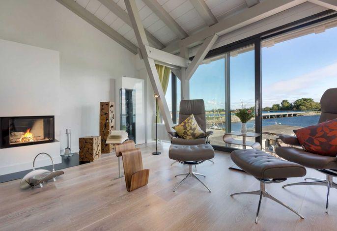 Sea-Lounge mit Panoramablick - OG