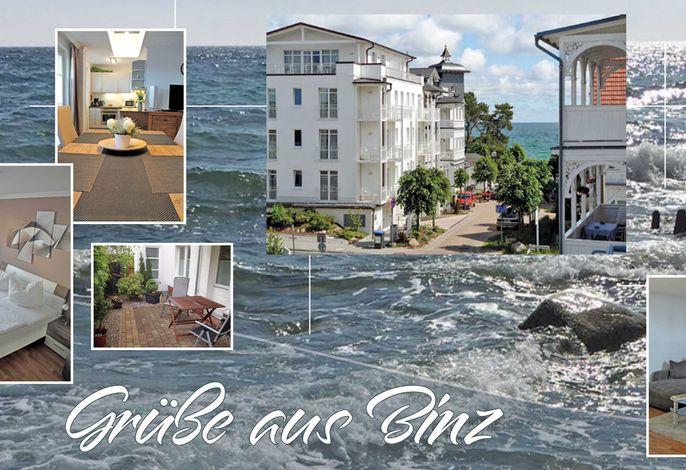 "Haus Concordia -F512 | WG11 ""Liuba"" m. Terrasse & Strandkorb"
