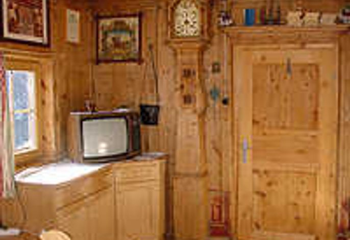 Wohnzimmer nach Bauernstil