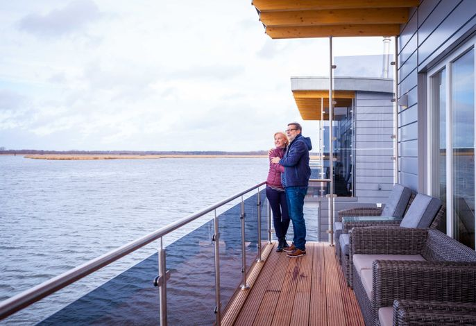 02. Floating Houses (105 m²) mit Kamin