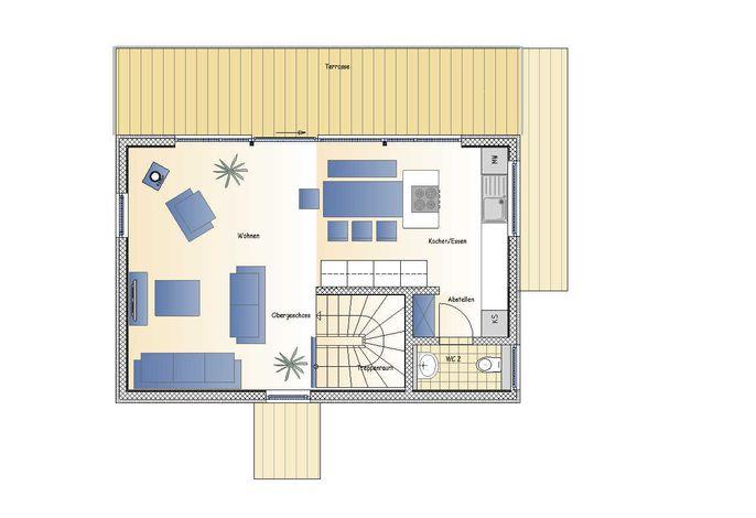z_02. Floating Houses (105 m²) mit Kamin