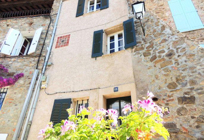 Romantisches Haus in der Altstadt