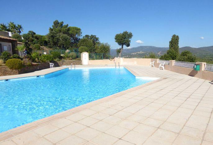 Ferienhaus mit Blick auf Grimaud