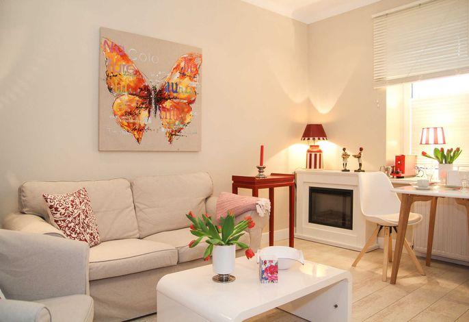 Das moderne Wohnzimmer ...