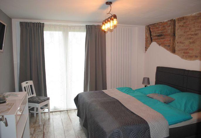 Bett vom Doppelzimmer