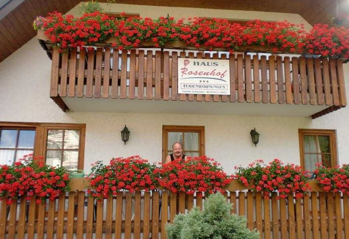 Haus Rosenhof Richtung Felbderg kommend