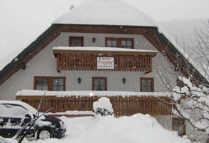 Schneegestöber in Brandenberg