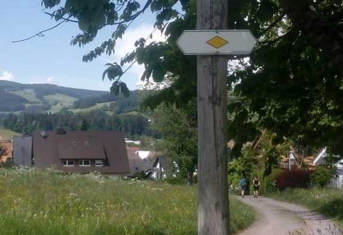 Rad- und Wanderwege beginnen in Hausnähe