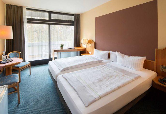 Reichels Parkhotel - Doppelzimmer mit Parkblick