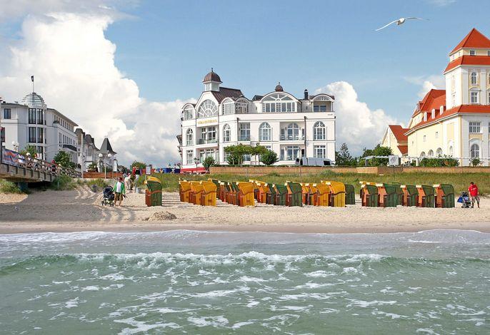 Strandschloss Binz F592 PH Royal Beach mit Meerblick