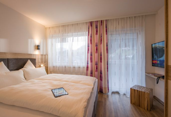 Schlafzimmer - Aparthotel AlpTirol