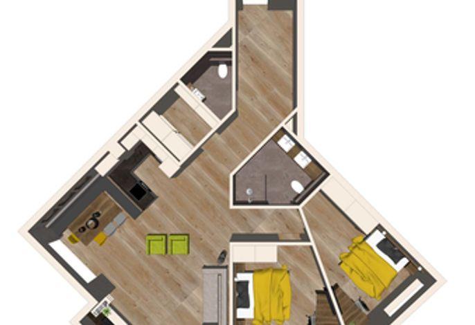 Apartment Zillertal Deluxe - Aparthotel AlpTirol