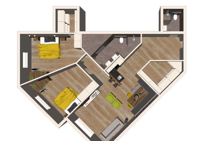 Apartment Mountain Deluxe - Aparthotel AlpTirol