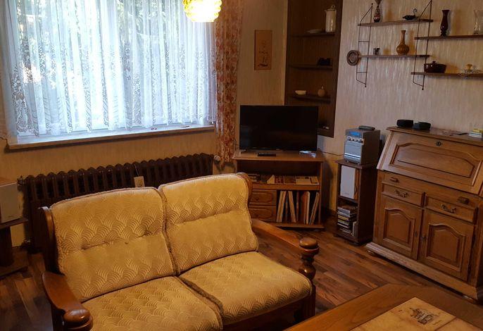 Flat-TV im Wohnzimmer