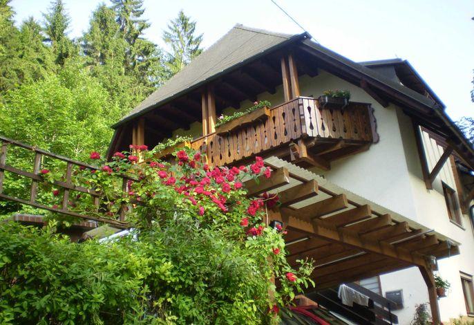 Außenansicht Haus am Bach